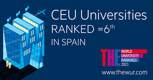 CEU Universities rank 6th nationally, according to THE Ranking